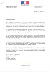 Avenant convention fiscale 001