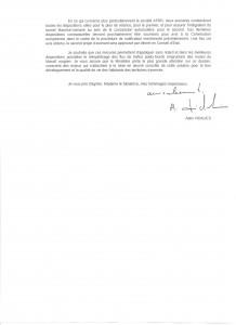 Courrier Ministère de l'écologie 2 001