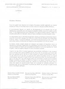 Courrier Ministère des affaires étrangères 1 001