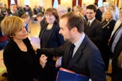 Patricia Schillinger et Sébastien Lecornu